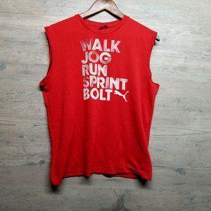 PUMA Dri-Fit Muscle T Shirt. Perfect! Super Soft!